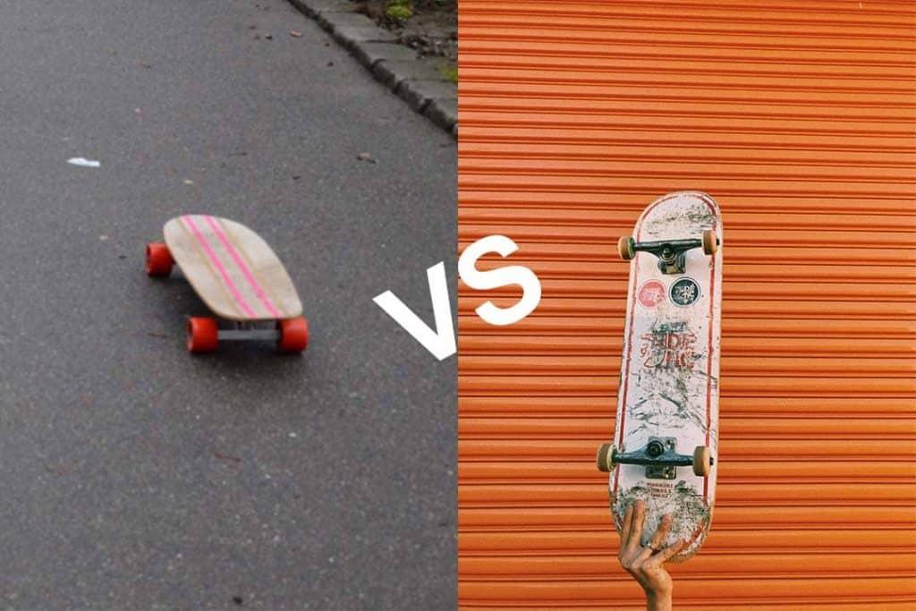 skateboard vs cruiser board